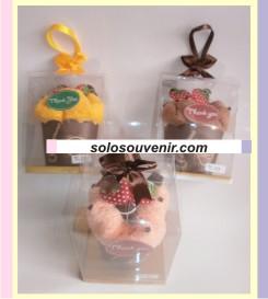 Souvenir Pernikahan Towel Cake Muffin ( TC 23)