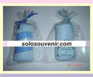Souvenir Pernikahan towel 029
