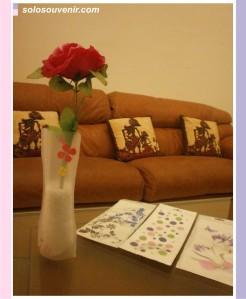 Souvenir Pernikahan Vas bunga kecil