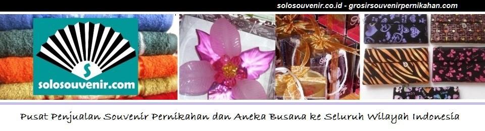Grosir Souvenir Pernikahan dan Busana