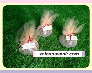 Souvenir Pernikahan Mangkok Bola Tile Potong