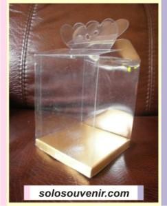 Mika kemasan souvenir pernikahan ukuran 8 x 8 x 10