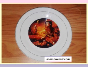 Souvenir Pernikahan Keramik Piring Full Colour